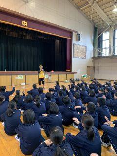 球舞からの授業 in 南浦和中学校、原山中学校!